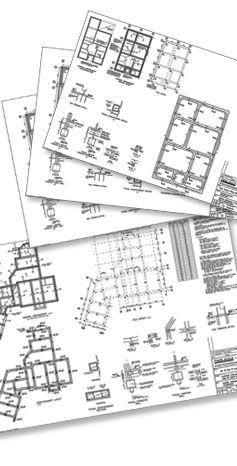 design drawings - pile layouts - Calculations - Steel reinforcement drawing